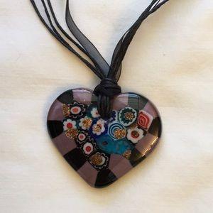 Jewelry - Venetian Millefiori Glass Necklace